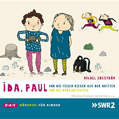 Ida, Paul und die fiesen Riesen aus der Dritten / ... und die Dödeldetektive     Ida und Paul 1 + 2              By:                                                                                                                                 Mikael Engström                               Narrated by:                                                                                                                                 Anna Thalbach,                                                                                        Ilja Richter                      Length: 54 mins     Not rated yet     Overall 0.0