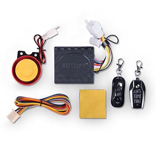 Autofy Universal Anti-Theft Alarm System for All Bikes (Button Key)
