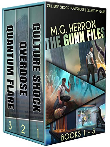 The Gunn Files: The Complete Series: (An Alien Contact Mystery Box Set: Books 1-3) by [M.G. Herron]
