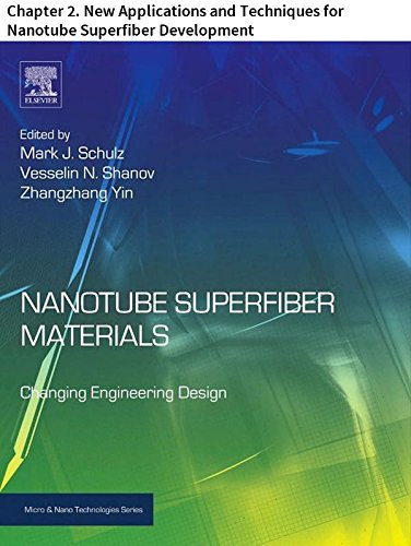 Nanotube Superfiber Materials: Chapter 2. New Applications and Techniques for Nanotube Superfiber Development (Micro and Nano Technologies) (English Edition)