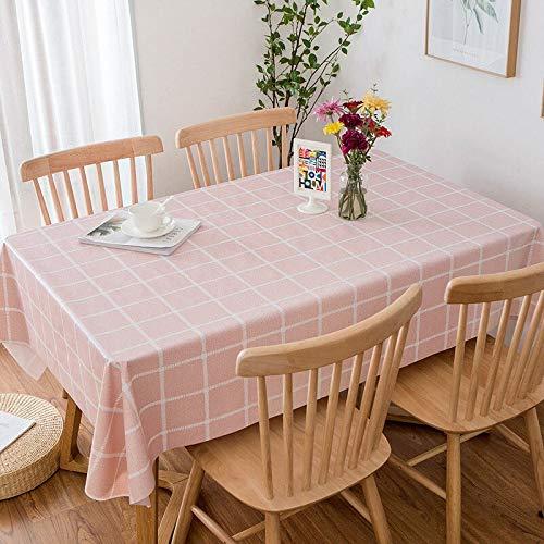 XXDD Mantel pequeño Fresco Impermeable y Lavable a Prueba de Aceite para Banquete Mantel de decoración de Cocina A9 140x140cm