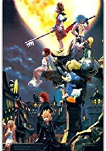 CHSC Anime Puzzles Adult Puzzle Jigsaw 1000 Piezas, Cartoon Kingdom Hearts III Puzzle Juego Adultos Desafiantes Juguetes_Regalos de decoración hogar