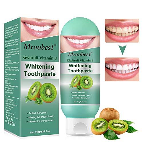 Whitening Zahnpasta, Bleaching Zahnpasta, Stain Removal Toothpaste, Kiwifruit Zahnpasta, Stark Dekontaminierend, Aufhellend Tooth, Schützen Sie Zahnfleisch Und Frischen Atem