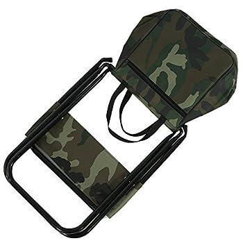 VGEBY Chaise Pliable Fauteuil Pliante Tabouret à Dossier Siège Léger Portable Multifonction avec Sac de Rangement pour Pêche Camping Voyages Plage Pique-Nique Extérieurs