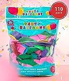 Funny Papi Luftballons Hochzeit Bunt - 110 Ballons Latex in 11 Party Farben, Geburtstag - groß - 30 cm