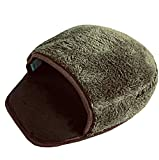 Mouse pad USB riscaldato Mouse scaldamani con polsino Warm Winter verde scuro