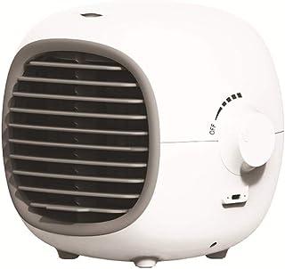 Fengyj Extintor Portátil De Aire Acondicionado USB Comfee Aire Acondicionado Personal para El Dormitorio De Estar Agencia De Viajes,Blanco