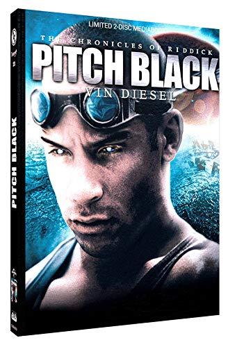 Pitch Black - Planet der Finsternis - Mediabook - Cover D - Limited Edition auf 111 Stück (+ DVD) [Blu-ray]