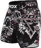 RDX MMA Pantalones Cortos de Entrenamiento Artes Marciales, Kickboxing, Boxeo | Pantalones Cortos elásticos para BJJ y Muay Thai
