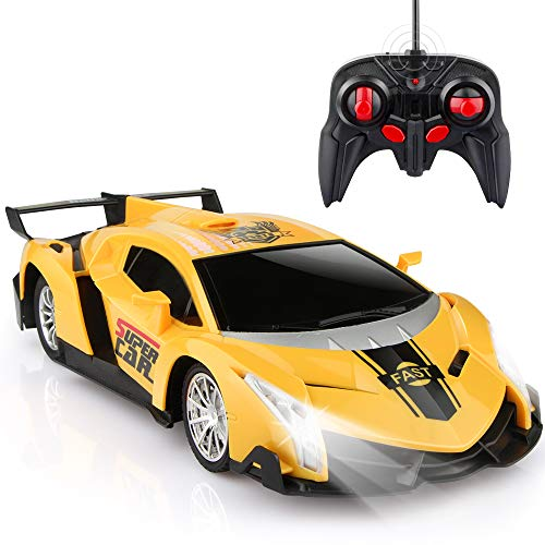 Growsland Remote Control Car, RC Cars Xmas Gifts for kids 1/18 Electric Sport...