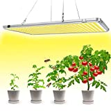 Led Grow Lights for Indoor Plants Full Spectrum, Bozily Sunlike Plant Growing Light Fixture, LED Growing Lamps 300W, Plant Grow Light for Seedlings, Veg and Bloom