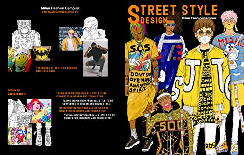 Street Style Design Street Style Design Fashion Design Sketch Book Learn About The Different Men Fashion Street Styles While Also Learning And Improving Your Sketching Skills Kindle Edition By Campus