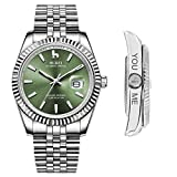 Best BUREI Automatic Watches - BUREI Men's Custom Personalized Automatic Watch Analog Dial Review