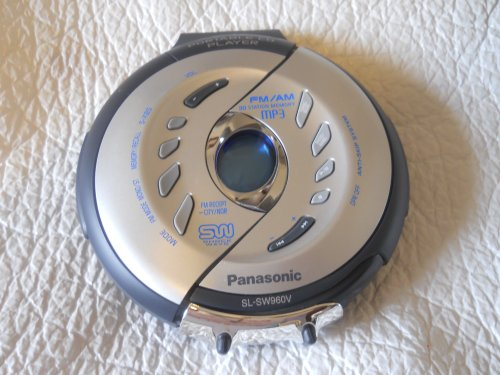 Panasonic SL-SW960V Water Resistant Portable CD Player with FM/AM Radio