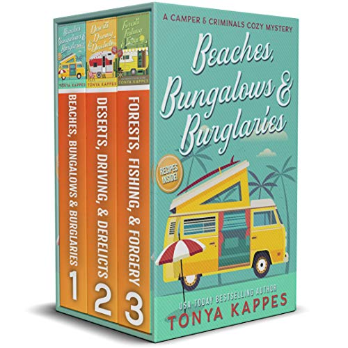 A Camper & Criminals Cozy Mystery Series Books 1 - 3 (A Camper & Criminals Cozy Mystery Box Set Series) (English Edition)
