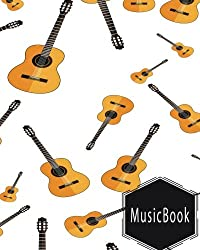 """Musicbook: Blank Music Sheet / Music Manuscript Paper / Staff Paper / Musicians Notebook/ 12 Staves Per Page / 150 Pages / 8"""" X 10"""""""