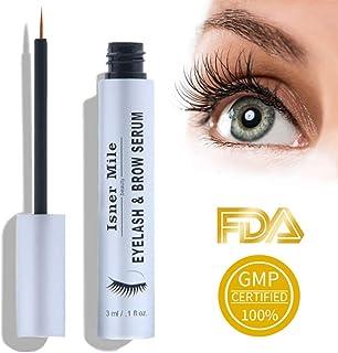 Eyelash Growth Serum and Eyebrow Growth Serum Enhancer Best for Longer, Fuller and Thicker Lashes Brows Enhancer Serum - 3ml