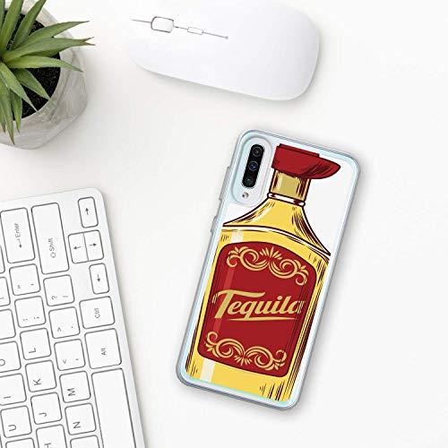 Tequila Hülle Samsung Galaxy Case A10 A20 A30 A40 A50 A70 M10 M20 M30 2019 Plastik Silikon phone case Mexikanische Mexiko trinken Sonnenaufgang Alkohol