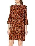 TOM TAILOR Denim Damen 1023859 Feminine Kleid, Flower Leo Print, M