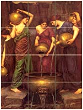 FlekmanArt Danaides by John William Waterhouse,- Art Ceramic Tile Mural 18