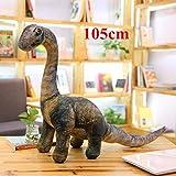 JMKHY Simulation Dinosaur Plush Toys Soft Cartoon Pillows Lifelike Tyrannosaurus Stuffed Doll for Boys Kids Birthday Gift-Big_Seismosaurus