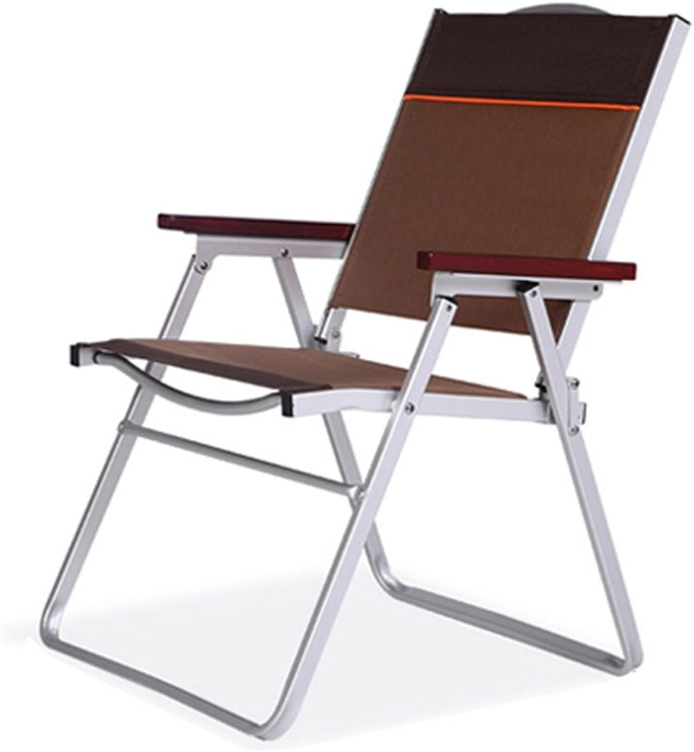 Outdoor Leisure Chair, Portable Balcony, Leisure Fishing Chair Stool Folding Aluminum Chair Canvas Chair, Folding Design,Versatility
