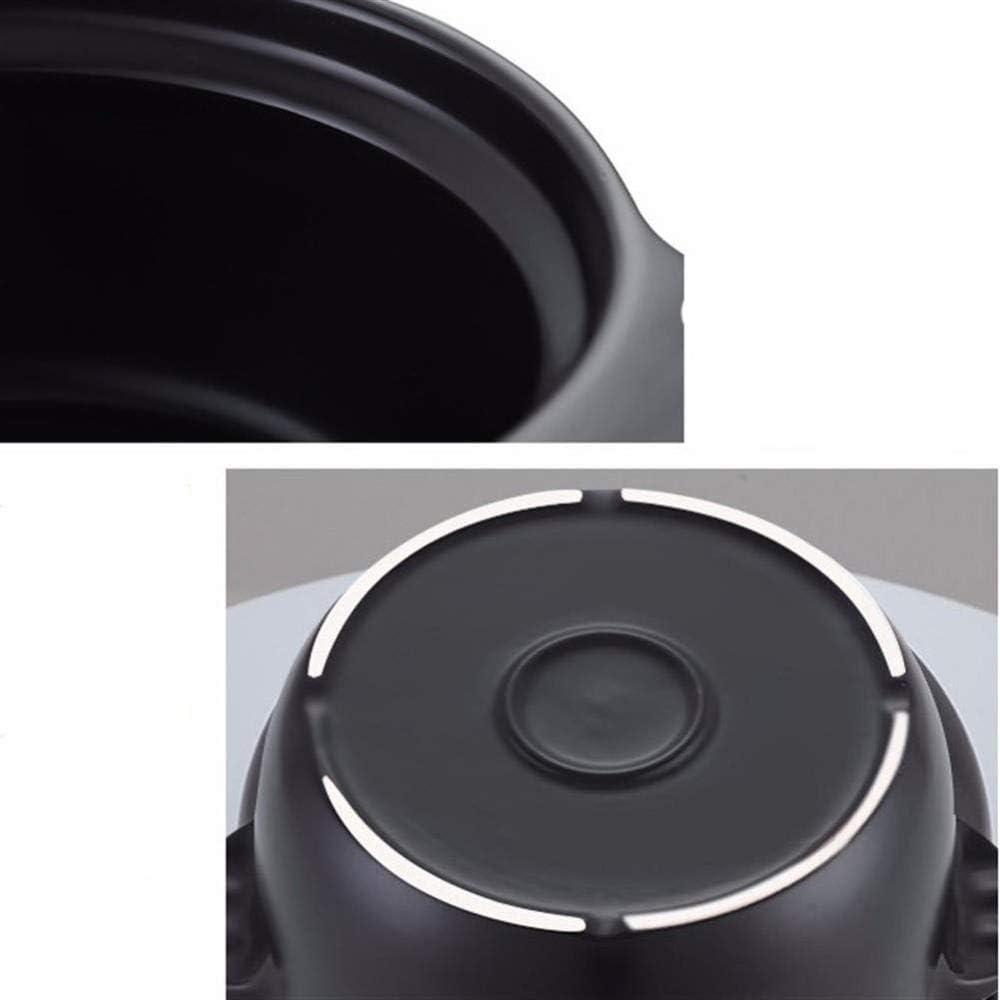 L.TSN Casserole en Argile Pot à ragoût Casserole en céramique Pot en Argile pour la Cuisson - Manger sainement Durable et Facile à Nettoyer 3 Capacité 9L-Capacité3.9L_A A