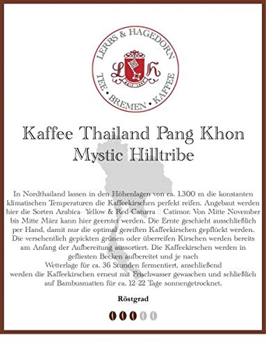 Thailand Pang Khon Mystic Hilltribe Kaffee 1kg
