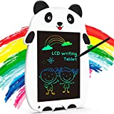 KingsDragon LCD Writing Tablet Drawing Doodle Board, Colorful Toddler Doodle Board Drawing Tablet, Erasable Reusable Electronic Drawing Pads, Educational and Learning Toy for Boys Girls(Panda)