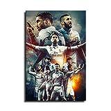 Real Madrid Wallpaper 2020 Leinwand-Kunst-Poster und
