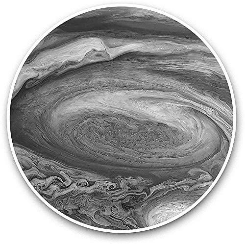 Lplpol Jupiter Planet Space NASA Laptop Gepäck Tablet #41102-4 Zoll (3 Stück/Packung) Schwarz / Weiß