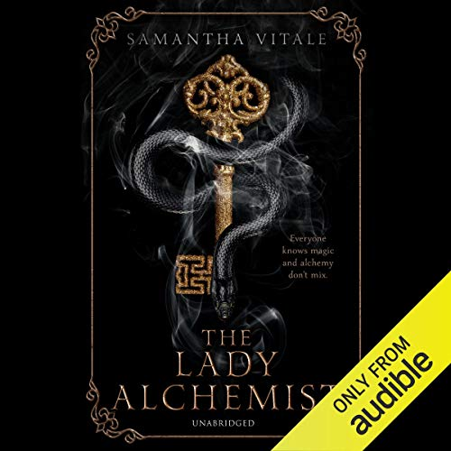 The Lady Alchemist audiobook cover art