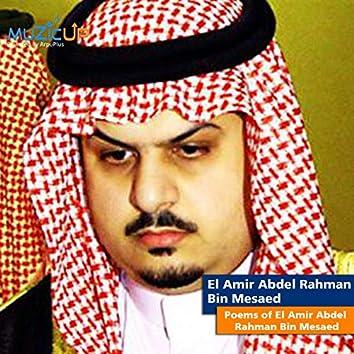 Poems of El Amir Abdel Rahman Bin Mesaed