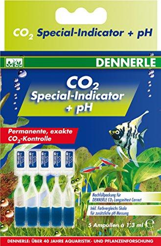 Dennerle 3041 CO2 Special-Indicator + pH - Nachfüllpack für CO2-Langzeittest Correct