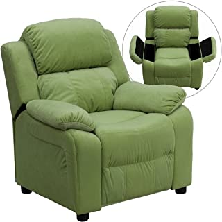 Flash Furniture Deluxe Padded Contemporary Avocado...