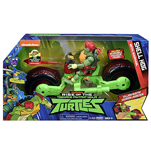 Rise of the Teenage Mutant Ninja Turtles Shell Hog with Raphael