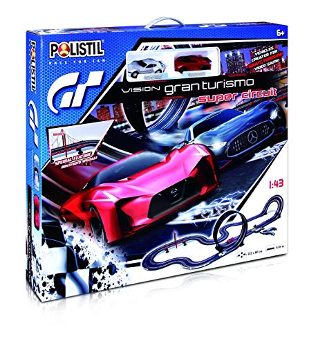 Polistil- Other License Pista Elettrica Vision GT Super, Multicolore, 960697