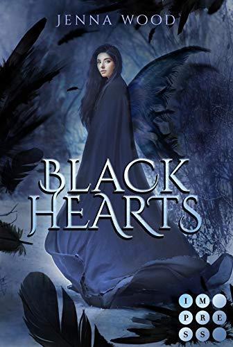 Die Black-Reihe 1: Black Hearts: Düsterer Fantasy-Liebesroman über eine Todesfee und ihren dämonischen Bodyguard (1)