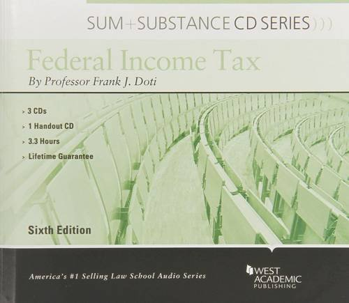 Sum and Substance Audio on Federal Income Tax