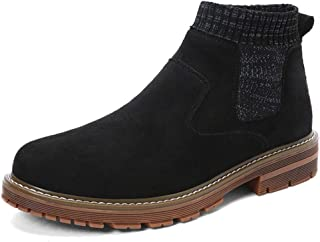 Dr. Martin unisex boots Sock mouth black short boots waterproof men's high-top leather shoes thickened non-slip leather boots tooling wild high-top boots tri-color optional