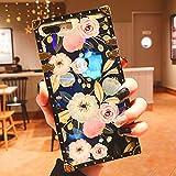 Logee Vivid Flower Case for iPhone 6 Plus/6S Plus 5.5'.Luxury Soft Colorful Rose Flowers Floral Pattern Design Cute Slim Unique Women Girls Lady Cover,Color TPU Elegant Square Cases for iPhone 6Plus