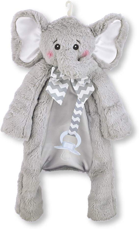 a precios asequibles Bearington Baby Baby Baby PACIFIER PET Plush Animal with Pacifier Tether and Pouch (gris Spout Elephant) by Bearington  Entrega directa y rápida de fábrica