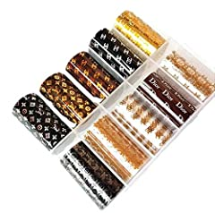 POPULAR NAIL TRANSFER FOIL FROM LIZPRONAILS EASY TO USE AND GREAT QUALITY VISIT OUR STORE FRONT HERE TO BUY => https://amzn.to/3dZR9Kh