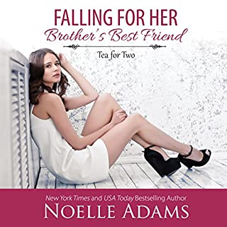 Falling for Her Brother's Best Friend audiobook cover art
