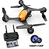 ScharkSpark Drohne SS41 Drohne mit 2 Kameras - 1080P FPV HD Kamera/Video und