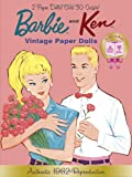 Barbie and Ken Vintage Paper Dolls: 50th Anniversary