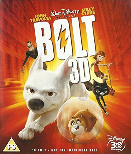 BOLT 3D BD (SONY BUNDLE) [Blu-ray] [UK Import]