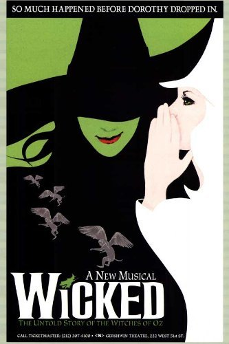 Wicked Poster (Broadway) (14 x 22 Inches - 36cm x 56cm) (9999) -