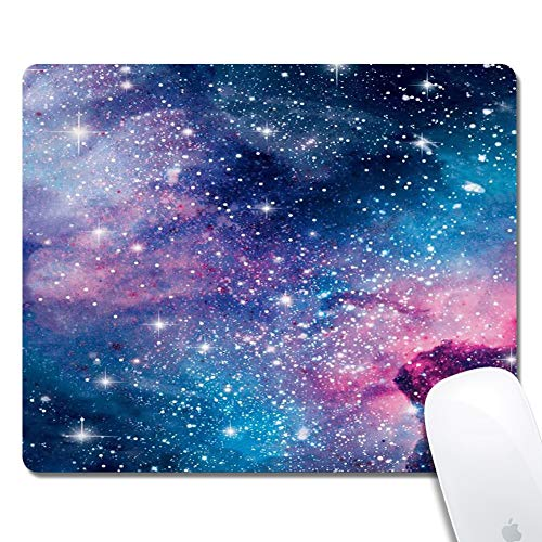 Galdas Gaming Mouse Pad Rose Gold Marble Design Mousepad Non Slip Rubber Mouse Mat Rectangle Mouse Pads for Computers Laptop - Starry Sky