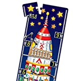 Long and Tall Puzzles - 123 Rocket Ship - 51 Piece, 5-foot-long Preschool STEM Puzzle, Learning Puzzles for Kids Ages 3-5, Educational Gifts for Boys & Girls Ages 3 and Up